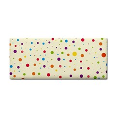 Colorful Dots Pattern Hand Towel