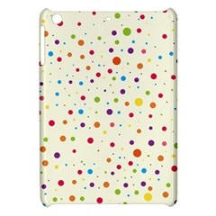 Colorful Dots Pattern Apple Ipad Mini Hardshell Case