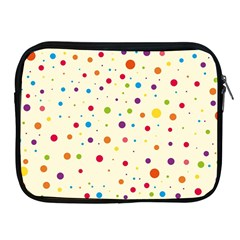 Colorful Dots Pattern Apple Ipad 2/3/4 Zipper Cases by TastefulDesigns