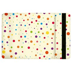 Colorful Dots Pattern Ipad Air 2 Flip