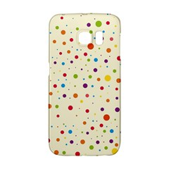 Colorful Dots Pattern Galaxy S6 Edge