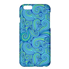 Abstract Blue Wave Pattern Apple Iphone 6 Plus/6s Plus Hardshell Case by TastefulDesigns