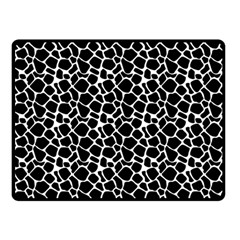 Animal Texture Skin Background Double Sided Fleece Blanket (small)