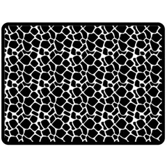 Animal Texture Skin Background Double Sided Fleece Blanket (large)  by TastefulDesigns