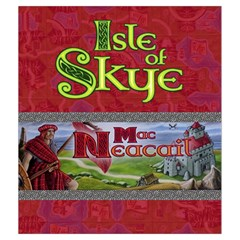 Isle Of Skye   Player Red By Philipp Wolter   Drawstring Pouch (medium)   9n1f6atpwbo4   Www Artscow Com Front
