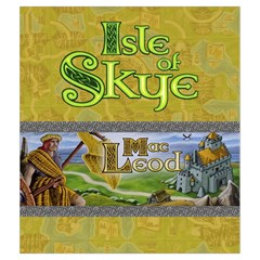 Isle Of Skye   Player Yellow By Philipp Wolter   Drawstring Pouch (medium)   Vs4q5hmstrbu   Www Artscow Com Front