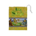 Isle of Skye - Player Yellow - Drawstring Pouch (Medium)