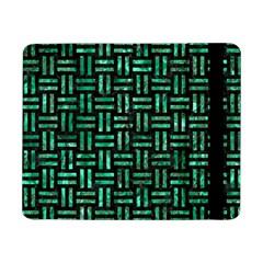 Woven1 Black Marble & Green Marble Samsung Galaxy Tab Pro 8 4  Flip Case by trendistuff