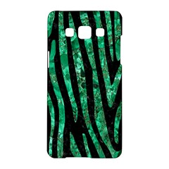 Skin4 Black Marble & Green Marble (r) Samsung Galaxy A5 Hardshell Case  by trendistuff