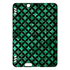 Circles3 Black Marble & Green Marble (r) Kindle Fire Hdx Hardshell Case by trendistuff