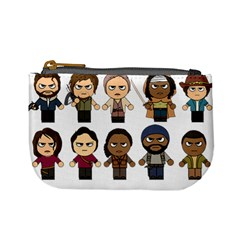 The Walking Dead   Main Characters Chibi   Amc Walking Dead   Manga Dead Mini Coin Purses by PTsImaginarium