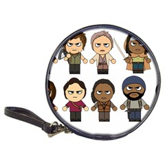 The Walking Dead   Main Characters Chibi   Amc Walking Dead   Manga Dead Classic 20 Cd Wallets by PTsImaginarium
