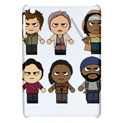 The Walking Dead   Main Characters Chibi   Amc Walking Dead   Manga Dead Apple Ipad Mini Hardshell Case by PTsImaginarium