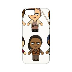 The Walking Dead   Main Characters Chibi   Amc Walking Dead   Manga Dead Apple Iphone 5 Classic Hardshell Case (pc+silicone) by PTsImaginarium