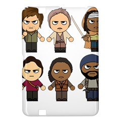 The Walking Dead   Main Characters Chibi   Amc Walking Dead   Manga Dead Kindle Fire Hd 8 9  by PTsImaginarium