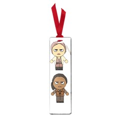 The Walking Dead   Main Characters Chibi   Amc Walking Dead   Manga Dead Small Book Marks by PTsImaginarium