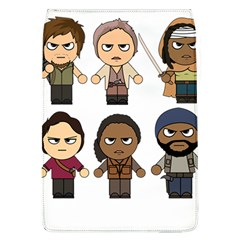 The Walking Dead   Main Characters Chibi   Amc Walking Dead   Manga Dead Flap Covers (l)  by PTsImaginarium