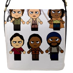 The Walking Dead   Main Characters Chibi   Amc Walking Dead   Manga Dead Flap Covers (s)  by PTsImaginarium