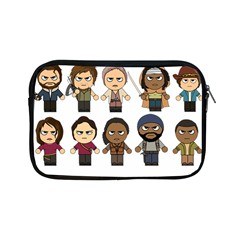 The Walking Dead   Main Characters Chibi   Amc Walking Dead   Manga Dead Apple Ipad Mini Zipper Cases by PTsImaginarium