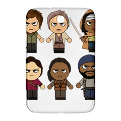 The Walking Dead   Main Characters Chibi   Amc Walking Dead   Manga Dead Samsung Galaxy Note 8 0 N5100 Hardshell Case  by PTsImaginarium