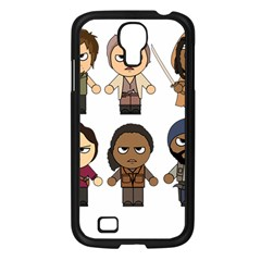 The Walking Dead   Main Characters Chibi   Amc Walking Dead   Manga Dead Samsung Galaxy S4 I9500/ I9505 Case (black) by PTsImaginarium