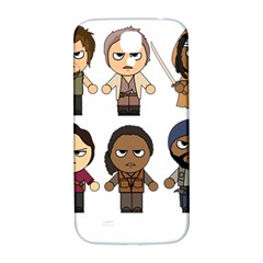 The Walking Dead   Main Characters Chibi   Amc Walking Dead   Manga Dead Samsung Galaxy S4 I9500/i9505  Hardshell Back Case by PTsImaginarium