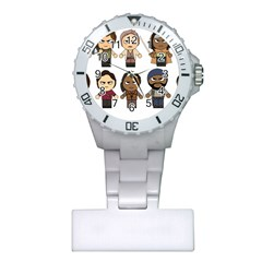 The Walking Dead   Main Characters Chibi   Amc Walking Dead   Manga Dead Plastic Nurses Watch by PTsImaginarium