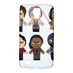 The Walking Dead   Main Characters Chibi   Amc Walking Dead   Manga Dead Galaxy S4 Active by PTsImaginarium