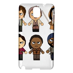 The Walking Dead   Main Characters Chibi   Amc Walking Dead   Manga Dead Samsung Galaxy Note 3 N9005 Hardshell Case by PTsImaginarium