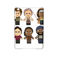 The Walking Dead   Main Characters Chibi   Amc Walking Dead   Manga Dead Ipad Mini 2 Hardshell Cases by PTsImaginarium
