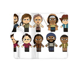 The Walking Dead   Main Characters Chibi   Amc Walking Dead   Manga Dead Kindle Fire Hdx 8 9  Flip 360 Case by PTsImaginarium