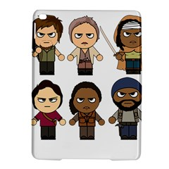 The Walking Dead   Main Characters Chibi   Amc Walking Dead   Manga Dead Ipad Air 2 Hardshell Cases by PTsImaginarium