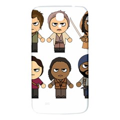 The Walking Dead   Main Characters Chibi   Amc Walking Dead   Manga Dead Samsung Galaxy Mega I9200 Hardshell Back Case by PTsImaginarium