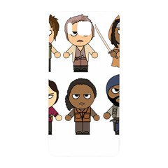 The Walking Dead   Main Characters Chibi   Amc Walking Dead   Manga Dead Samsung Galaxy Alpha Hardshell Back Case by PTsImaginarium