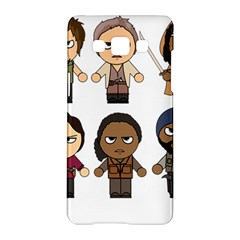 The Walking Dead   Main Characters Chibi   Amc Walking Dead   Manga Dead Samsung Galaxy A5 Hardshell Case  by PTsImaginarium