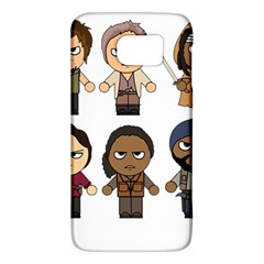 The Walking Dead   Main Characters Chibi   Amc Walking Dead   Manga Dead Galaxy S6 by PTsImaginarium