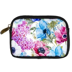 Watercolor Spring Flowers Digital Camera Cases