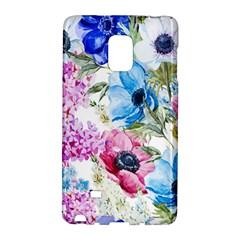 Watercolor Spring Flowers Galaxy Note Edge by TastefulDesigns