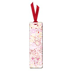 Ornamental Pattern With Hearts And Flowers  Small Book Marks