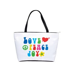 Love Peace Joy Shoulder Handbags