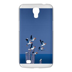Abstract Pelicans Seascape Tropical Pop Art  Samsung Galaxy Mega 6 3  I9200 Hardshell Case by WaltCurleeArt