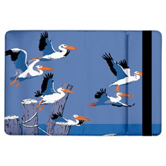 Abstract Pelicans Seascape Tropical Pop Art Ipad Air Flip by WaltCurleeArt
