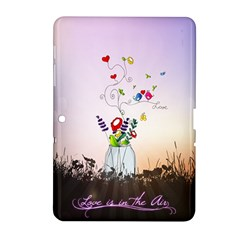 Love Is In The Air Illustration Samsung Galaxy Tab 2 (10 1 ) P5100 Hardshell Case  by TastefulDesigns