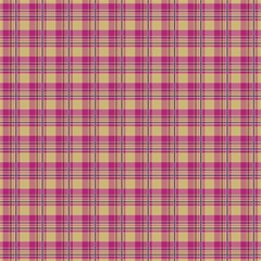 Pink Plaid Pattern Magic Photo Cubes