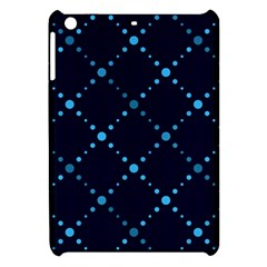 Seamless Geometric Blue Dots Pattern  Apple Ipad Mini Hardshell Case by TastefulDesigns
