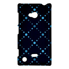 Seamless Geometric Blue Dots Pattern  Nokia Lumia 720 by TastefulDesigns