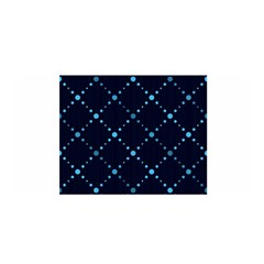 Seamless geometric blue Dots pattern  Satin Wrap by TastefulDesigns