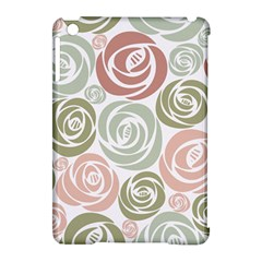 Retro Elegant Floral Pattern Apple Ipad Mini Hardshell Case (compatible With Smart Cover) by TastefulDesigns