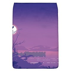 Abstract Tropical Birds Purple Sunset  Flap Covers (l)  by WaltCurleeArt