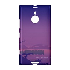 Abstract Tropical Birds Purple Sunset  Nokia Lumia 1520 by WaltCurleeArt